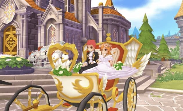 ラグナロクマスターズの結婚