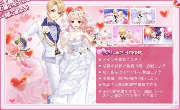 ルミナスフォレストの結婚